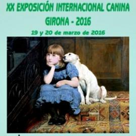 EXPOSICION INTERNACIONAL CANINA GIRONA 2016